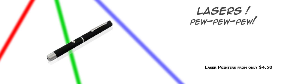 Discount Laser Pointers